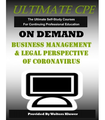 Business Management and Legal Perspective of Coronavirus
