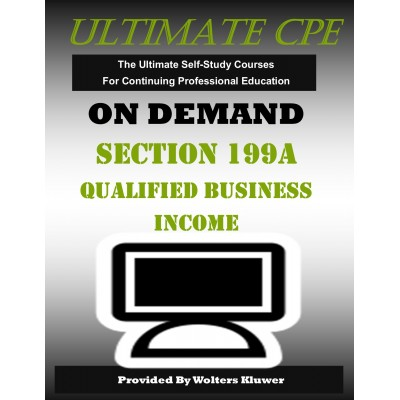 Section 199A Qualified Business Income