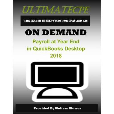 Payroll at Year End in QuickBooks Desktop