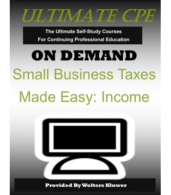 Small Business Taxes Made Easy: Income