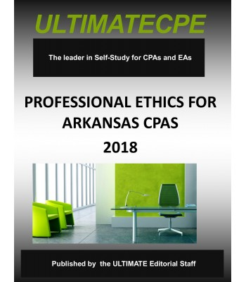 Professional Ethics for Arkansas CPAs-2018
