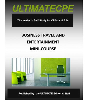 Business Travel and Entertainment-Mini-Course
