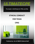 Ethical Conduct for Texas CPAs