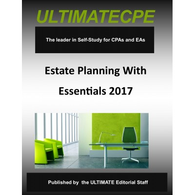 Estate Planning Essentials 2017