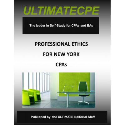 Professional  Ethics for New York CPAs