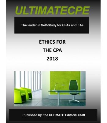Ethics: An Overview for All Accountants 2018