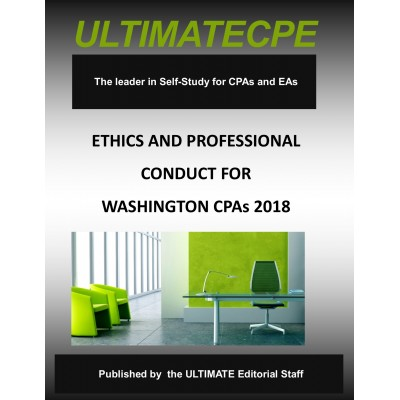 Ethics and Professional Conduct for Washington CPAs 2018