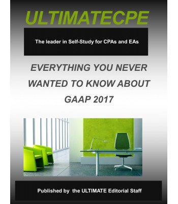 Everything You Never Wanted To Know About GAAP 2017
