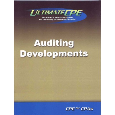 Auditing Developments 2017