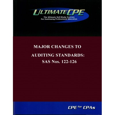 Major Changes To Auditing Standards SAS Nos.122-131 2017