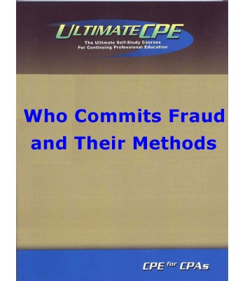 Who Commits Fraud and Their Methods