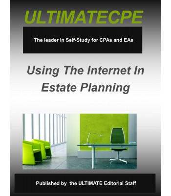 Using The Internet in Estate Planning