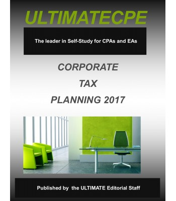 Corporate Tax Planning 2017