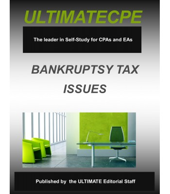 Bankruptcy Tax Issues Mini-Course