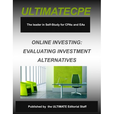Online Investing: Evaluating Investment Alternatives