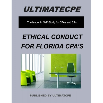 Ethical Conduct For Florida CPA's 2017
