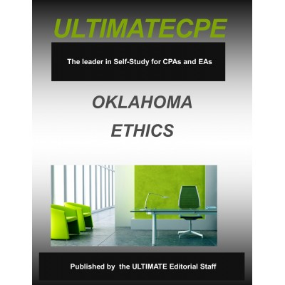 Oklahoma Ethics: An Overview For Accountants