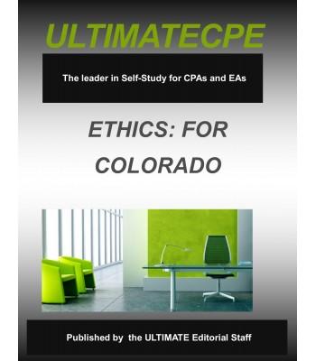 Professional Ethics for Colorado CPAs 2017